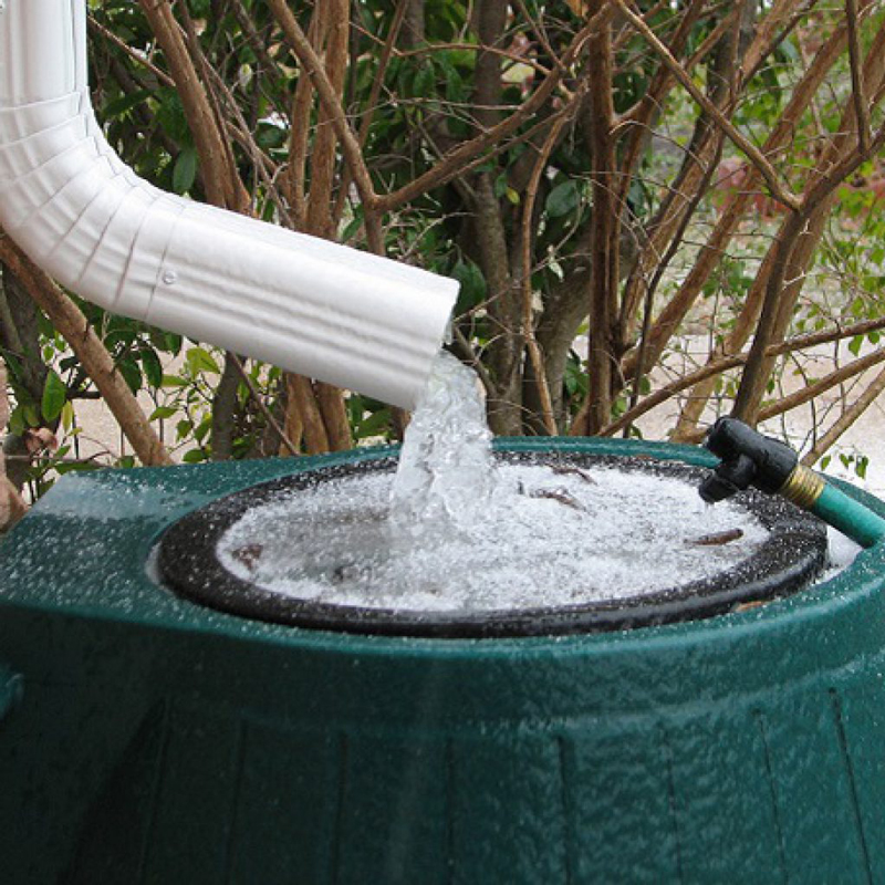 A Rainwater Harveting System In Full Working Order